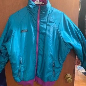 Columbia Sports reversible jacket